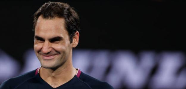 """Roger Federer: """"Aunque parezca fácil, hay mucho esfuerzo detrás"""". Foto: Getty"""