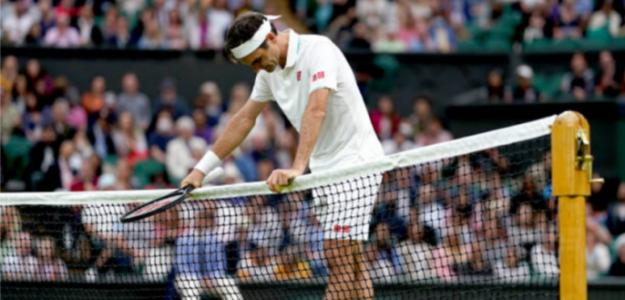 El motivo de lo que le pasa a Roger Federer. Foto: Getty