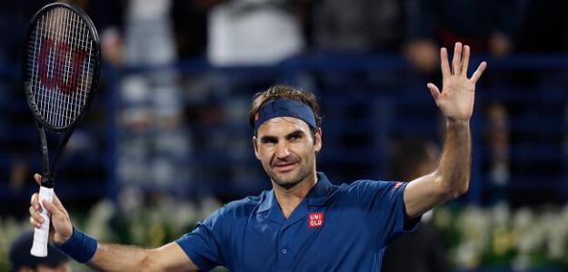 Roger Federer y Stefanos Tsitsipas en Dubai 2019, ranking ATP. Foto: zimbio