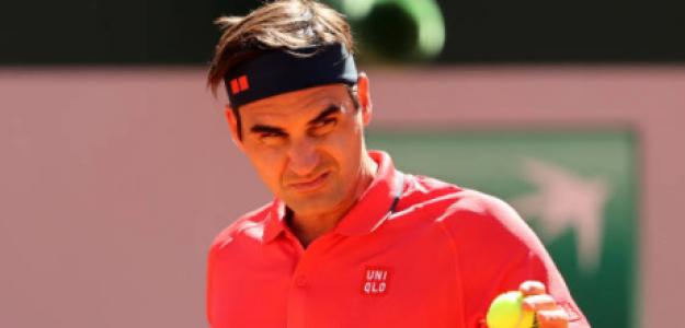 Federer debutó con una victoria en Roland Garros. Foto: Getty