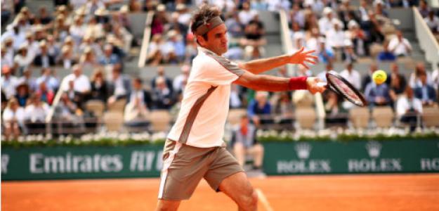 Roger Federer en Roland Garros 2019. Foto: zimbio