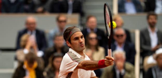 Roger Federer solo jugará Roland Garros 2020. Foto: gettyimages