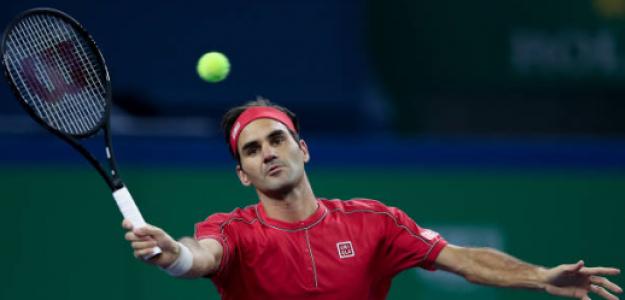 Roger Federer en Shanghái 2019. Foto: zimbio