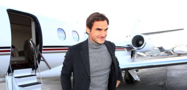 Roger Federer, jugador que más viaja del top-10 en 2019. Foto: gettyimages