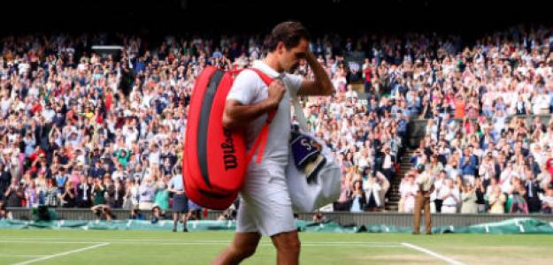 El suizo dejó abierta la puerta a no volver a Wimbledon. Foto: Getty