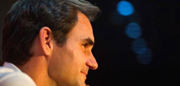 Roger Federer en rueda de prensa. Fuente: Getty