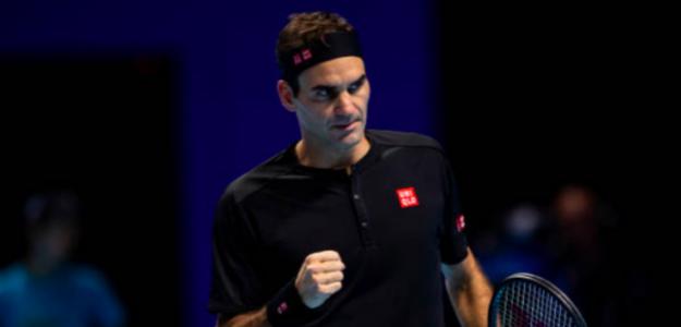Roger Federer y una mirada que lo dice todo. Fuente: Getty