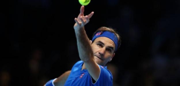 Roger Federer en Londres. Foto: Getty Images