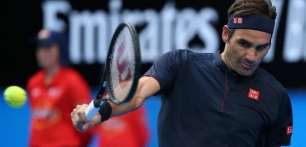 Roger Federer y su tres de tres en la 'round robin' de la Copa Hopman