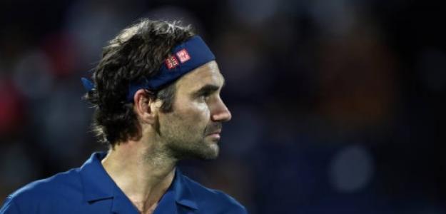 Roger Federer en Dubái. Foto: Getty Images