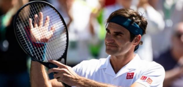Roger Federer en Indian Wells. Foto: Getty Images