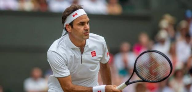 Roger Federer en Wimbledon. Foto: Halle