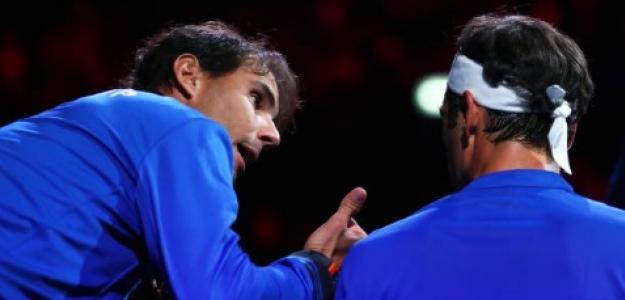 Roger Federer en Laver Cup. Foto: Getty Images