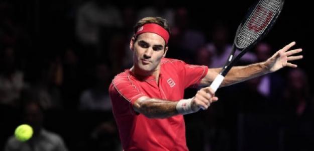 Roger Federer en Basilea. Foto: Getty Images