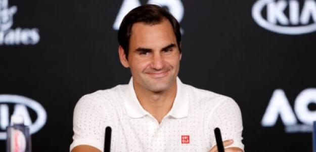 Roger Federer en Australia. Foto: Getty Images