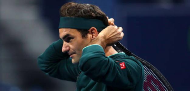 Roger Federer debuta con victoria en Doha. Fuente: Getty