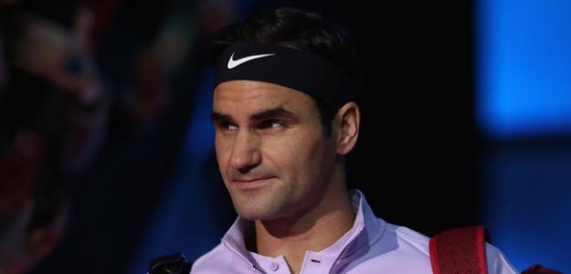 Roger Federer en 2017. Foto: zimbio