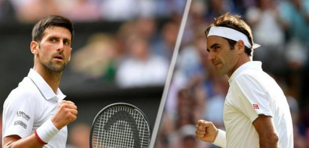 Djokovic vs Federer. Foto: France24