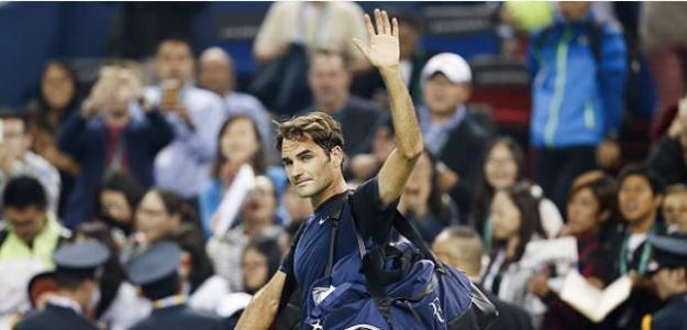 El día que Federer perdió con Ramos-Viñolas en Shanghai. Foto: Getty