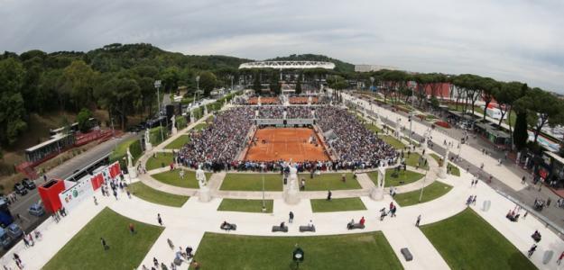 WTA Roma. Foto: Getty