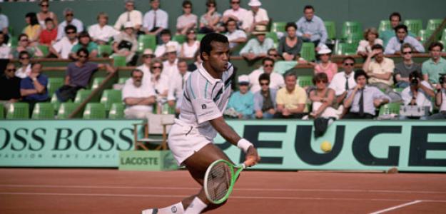 Ronald Agénor, en Roland Garros. Fuente: Getty