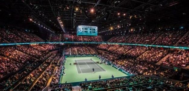 La retirada de Albot en Rotterdam y los 15.510 euros que nadie quiso. Foto: ATP Rotterdam