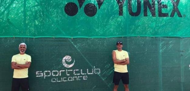 Mariano Campos y Rubén Ramírez. Fuente: Spanish Tennis Way
