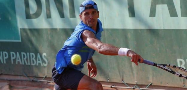 Rubén Ramírez Hidalgo en Roland Garros