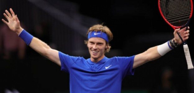 Andrey Rublev. Foto: Getty Images
