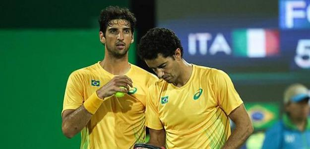 Thomaz Bellucci y André Sá en los Juegos de Río. Fuente: Getty