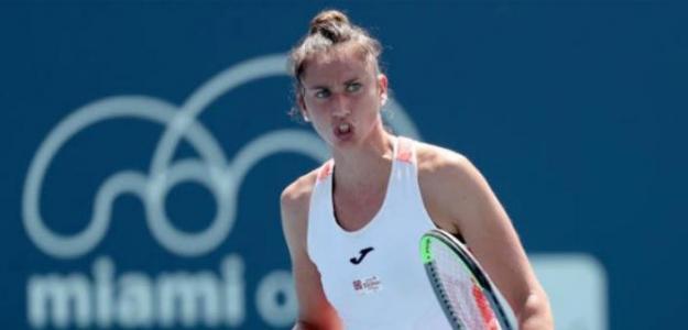 Sara Sorribes. La confianza en el tenis lo es todo. Foto: Getty