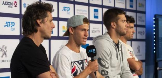 El Peque analizará si es conveniente ir a Bogotá a jugar la Davis. Foto: Sergio Llamera / Prensa Argentina Open