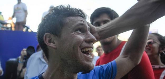 """Schwartzman: """"Me encanta jugar ante el público argentino"""". Foto: Getty"""