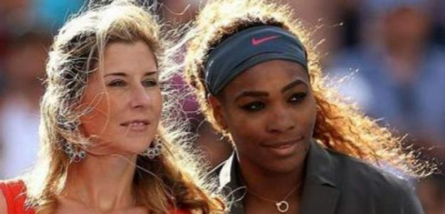 Monica Seles y Serena Williams. Foto: Getty