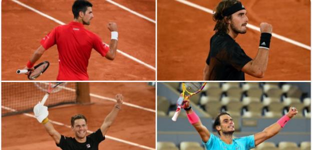 Roland Garros 20202: Análisis de las semifinales masculinas