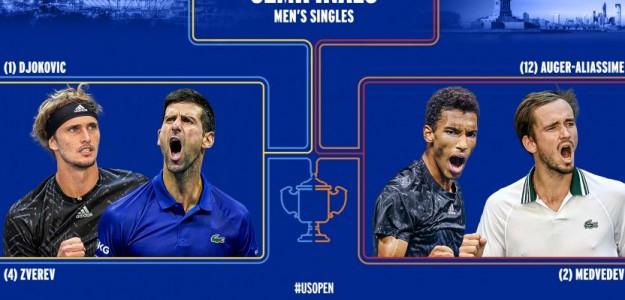 Análisis de las semifinales masculinas del US Open 2021. Foto: US Open