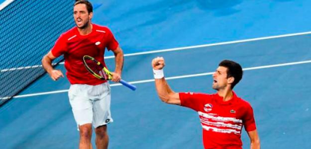 Troicki y Djokovic lideran a Serbia hasta el triunfo. Fuente: Getty