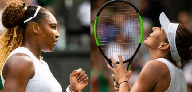 Undécima final para Serena, primera para Halep en Wimbledon. Fotos: Getty