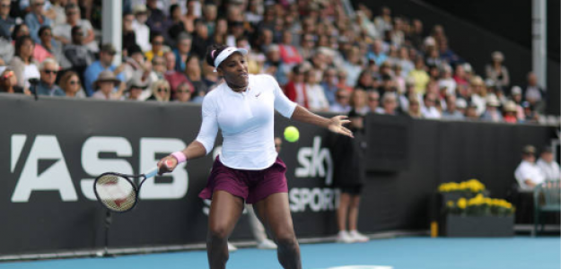 Serena Williams en Auckland. Foto: gettyimages
