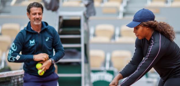 Mouratoglou se refirió al futuro de Serena. Foto: Getty
