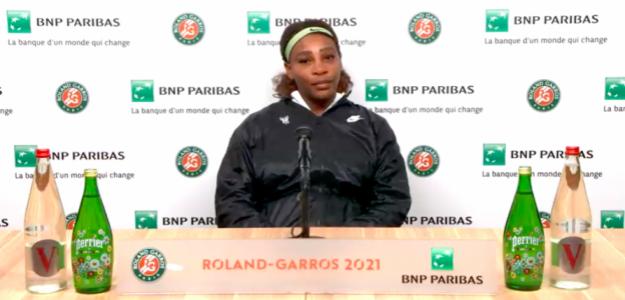 Serena Williams dijo adiós a París. Fuente: Roland Garros 2021