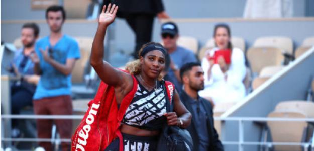 Serena Williams en Roland Garros 2019. Foto: zimbio