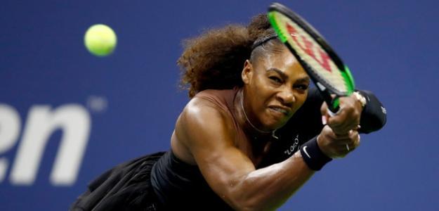 Serena Williams en US Open 2018. Foto: zimbio