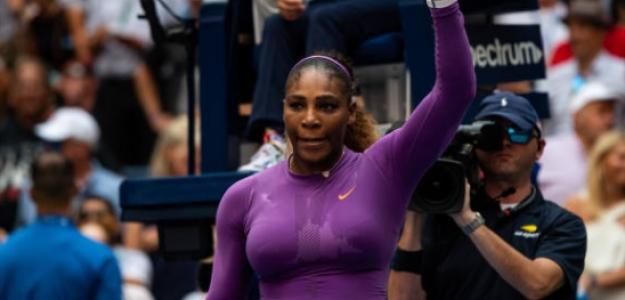 Serena sueña en grande en el US Open. Foto: Getty