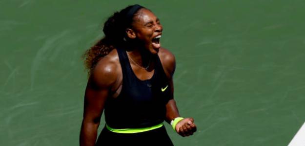La furia de Serena Williams. Fuente: Getty