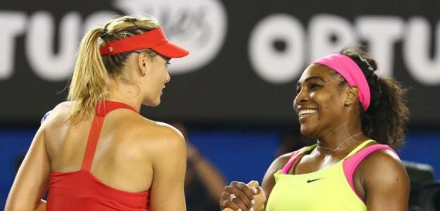Sharapova y Serena. Foto: Australian Open