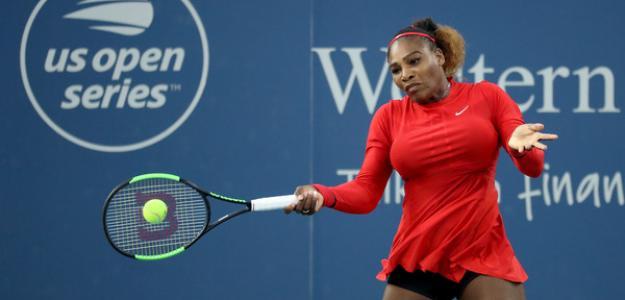 Serena supera la primera ronda. Foto: Zimbio