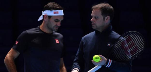 """Luthi: """"Federer no se ha planteado nunca la retirada"""". Foto: Getty"""