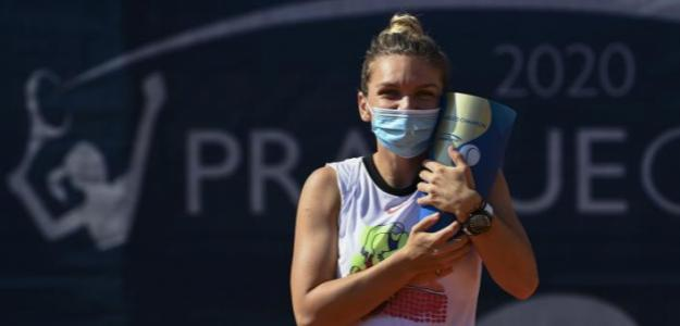 Simona Halep hace balance del torneo ganado en Praga. Foto: gettyimages