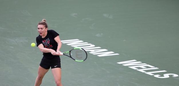 Simona Halep en Indian Wells 2019. Foto: zimbio